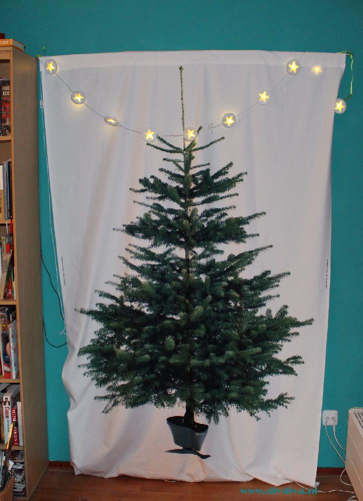 Ikea kerstboom stof diydiva