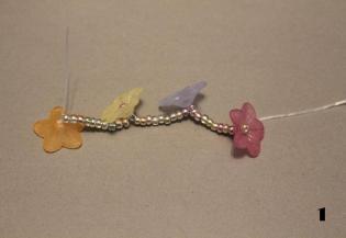 bloemenarmband maken diydiva