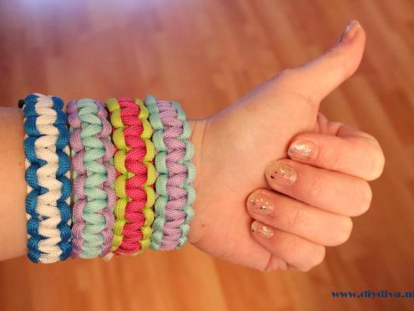 Paracord armband Cobra maken