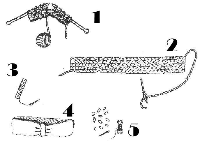 tutorial vintage haarband breien