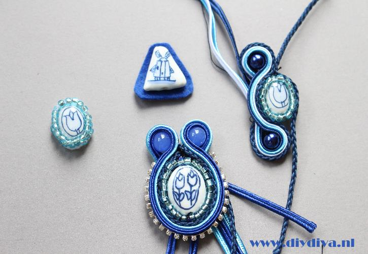 Holland soutache ketting diydiva