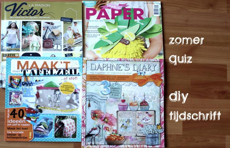LMV creatief papier paper tafelzeil Daphne´s diary diydiva zomer 2015