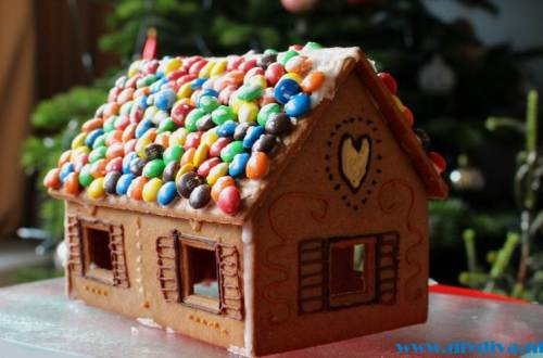 peperkoekhuis gingerbread house diydiva