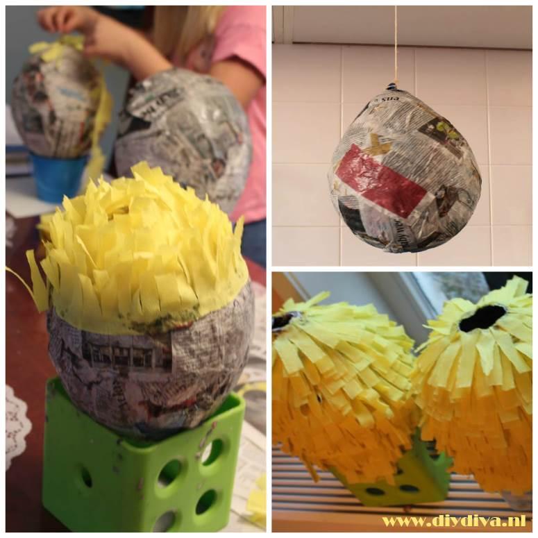 pinata ananas maken diydiva