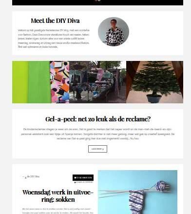 Blogtips: een gekochte layout