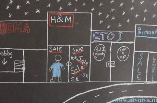 uitverkoop H&M diydiva