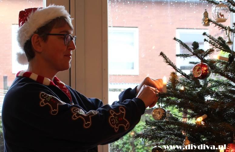 zelf foute kersttrui maken diydiva