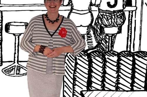 twinset met rok zelfgemaakt diydiva
