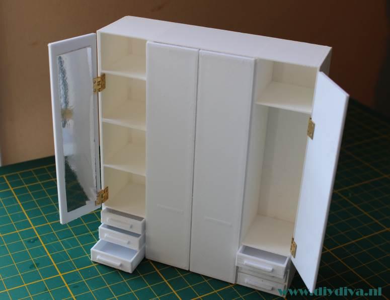 Ikea Pax Kastenwand.Miniatuur Ikea Pax Kast Af De Diy Diva