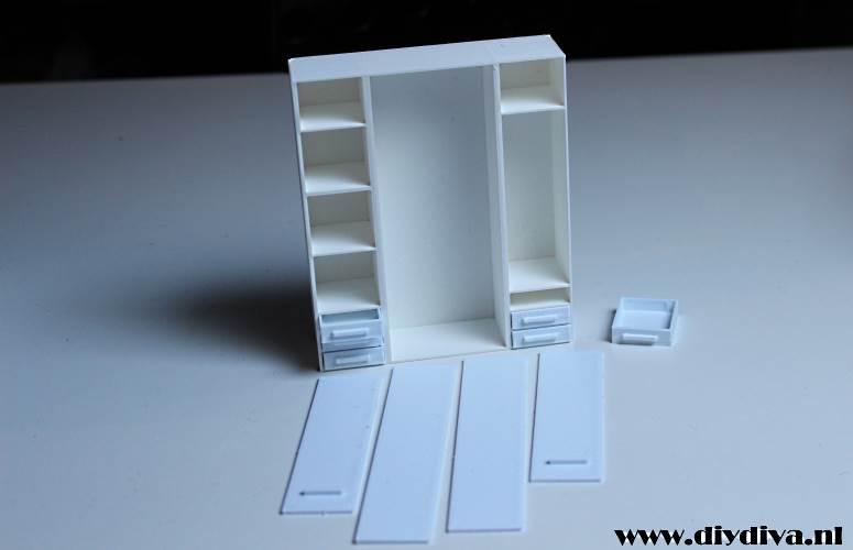 3d print kast poppenhuis dollhouse pax ikea dediydiva