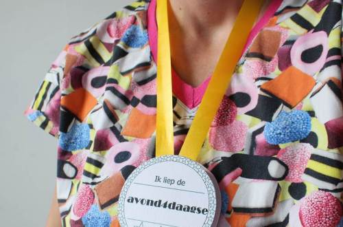 avondvierdaagse medaille maken diydiva