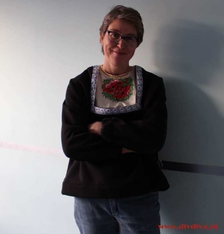 Volendam sweater diydiva klederdracht