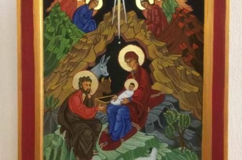 kerst icoon schrijven diydiva
