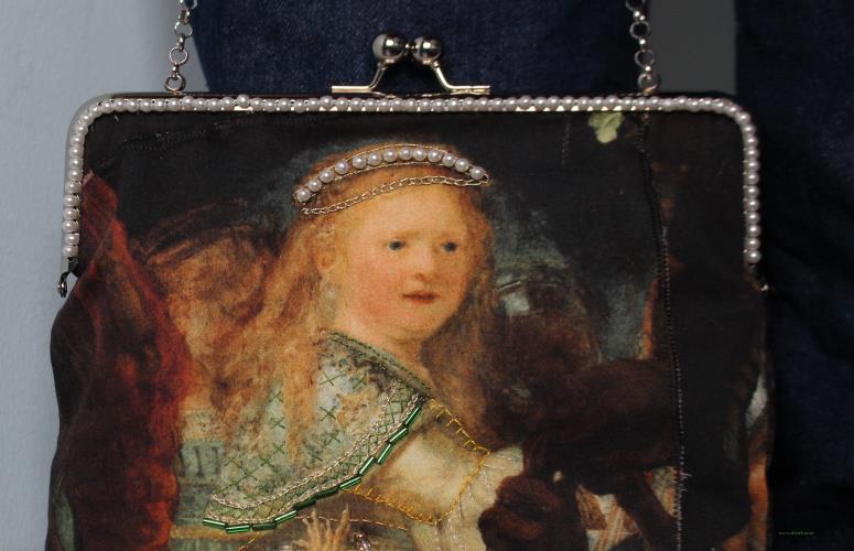 Rembrandt tas detail