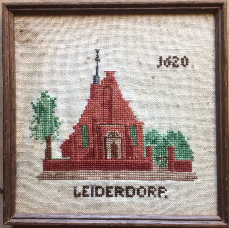 borduurwerk kerk