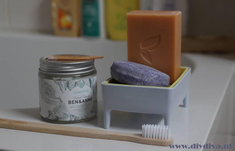 verantwoorde zeep shampoo tandpasta diydiva