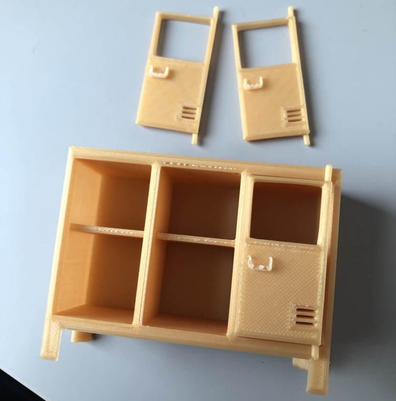 3d printen poppenhuis