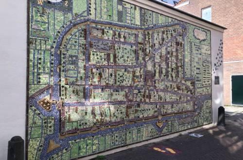 Delft mozaiek