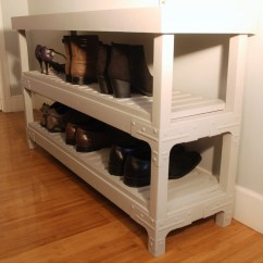 How To Build Your Own Kitchen Island Table Light Fixtures Diy Shoe Rack - Done Right