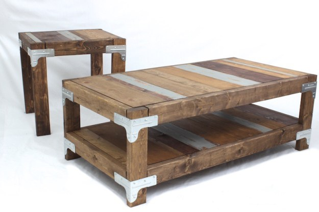 diy coffee table and end tablerogue engineer - diy done right