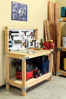 DIY Workbench Storage Ideas