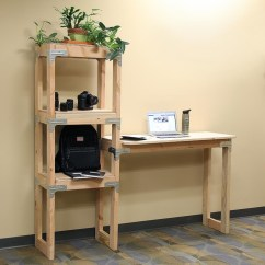 Build Your Own Outdoor Kitchen Island Backsplash Design Diy Standing Desk With Shelving Unit Project Sheet - ...