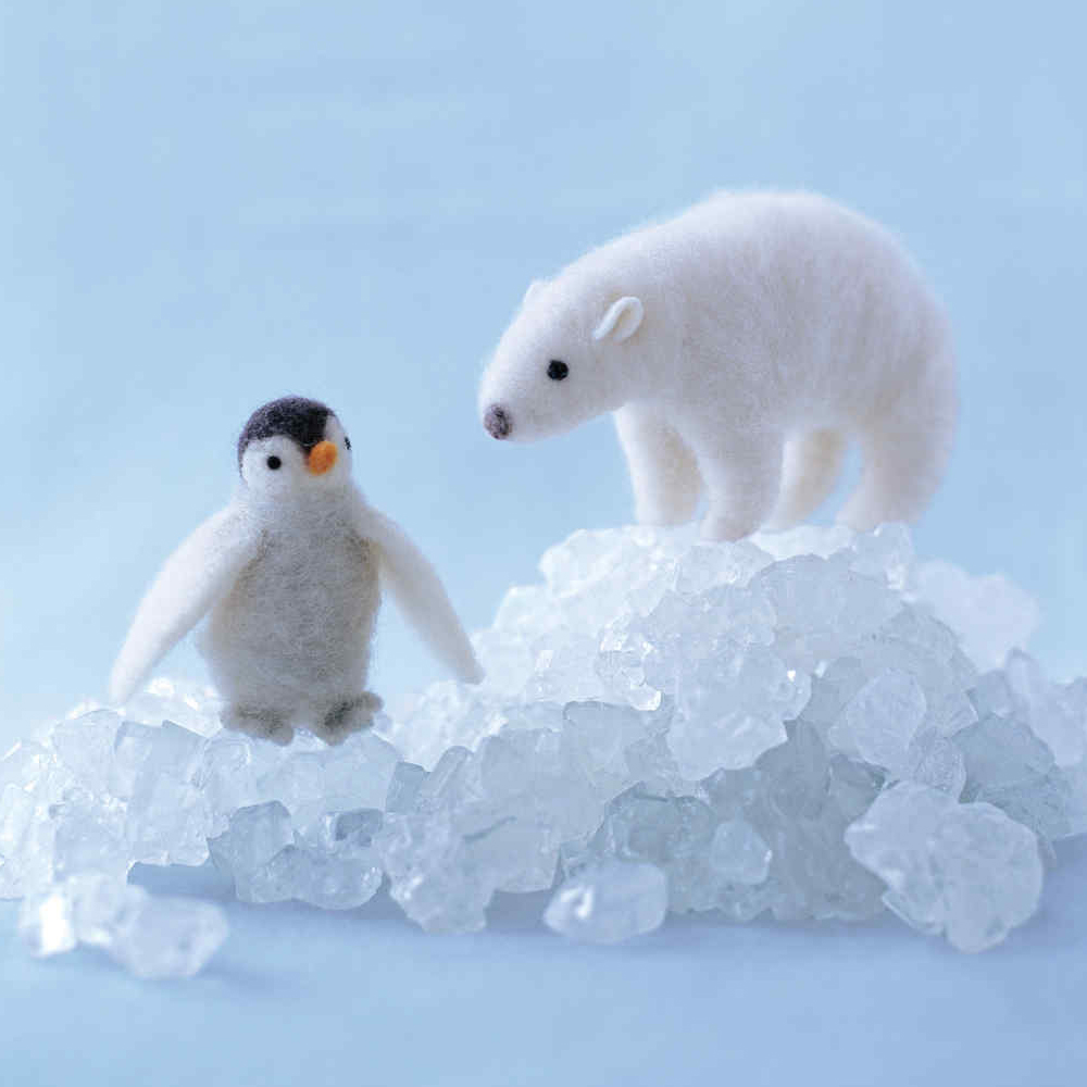 How to Make a Needle-Felted Penguin - DiyerClub