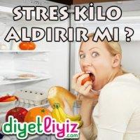 stres kilo yaparmı