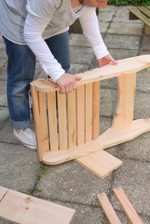 Fabriquer un fauteuil Adirondack  DIY Family