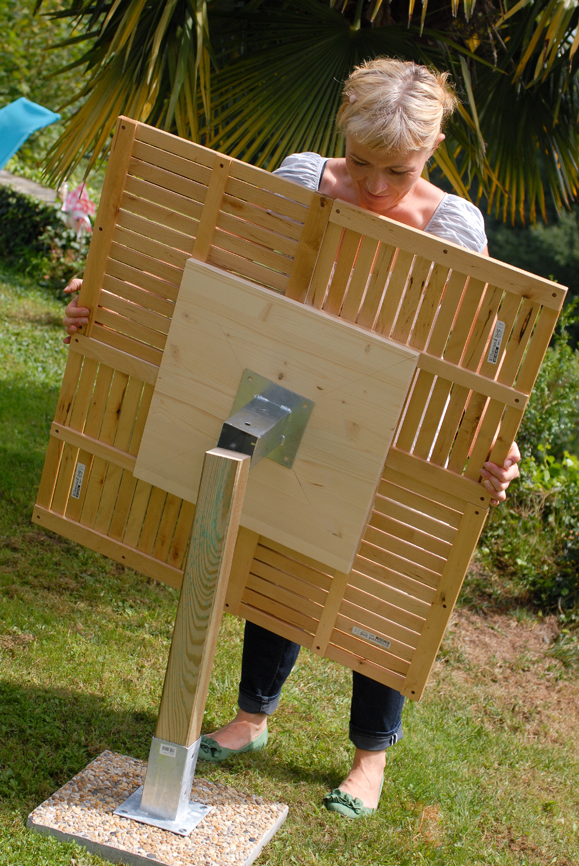 Comment Faire Une Grande Table De Jardin   Fabrication Meuble Avec ...