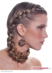 romantic braids diy fashion sense