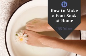 How to Make a Foot Soak at Home