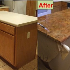 Refinishing Kitchen Countertops Pub Table Set How To Refinish Your Counter Tops For Only 30