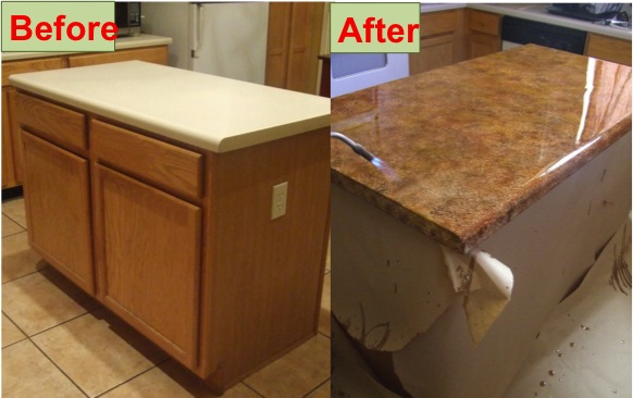 Refinish Your Kitchen Counter Tops