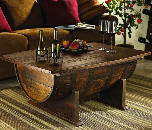 Wine Barrel Home Decor