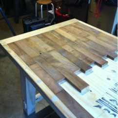 Build Kitchen Table Sink Faucet Replacement How To Make A Wood Plank Do It Yourself Fun Ideas Rustic Diy