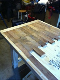 How To Make A Wood Plank Kitchen Table - Do-It-Yourself ...