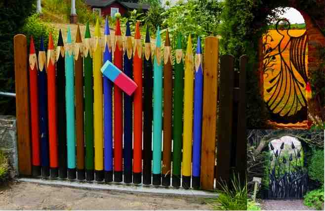 20 Amazing & Unique Garden Gate Ideas Do It Yourself Fun Ideas