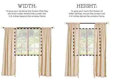 Hanging Curtains Ideas