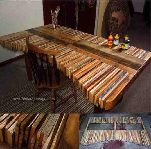 Amazing DIY Pallet Table  DoItYourself Fun Ideas