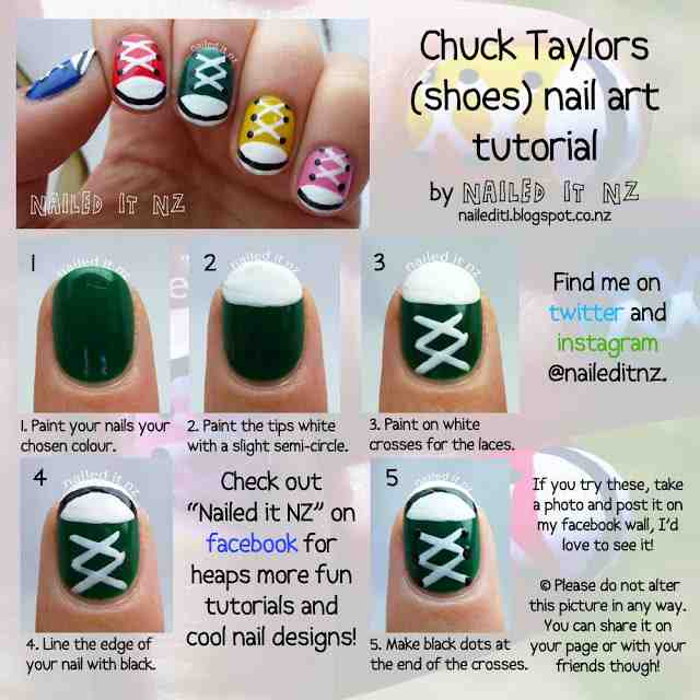 Cool Nail Art For Short Nails Tons Of Tutorials Do It Yourself Fun Ideas