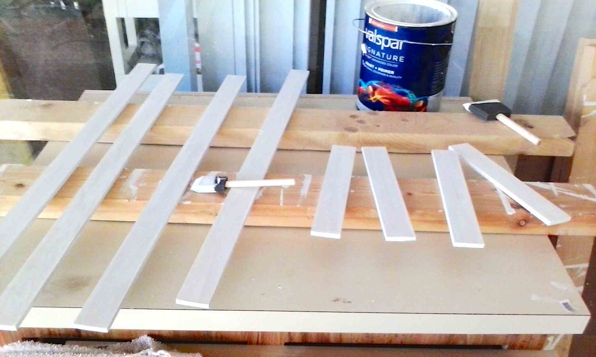 diy refinish kitchen cabinets sink strainers how to formica + unique chalk paint ...