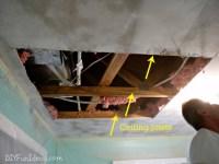 Diy Sheetrock Repair Ceiling - Do It Your Self
