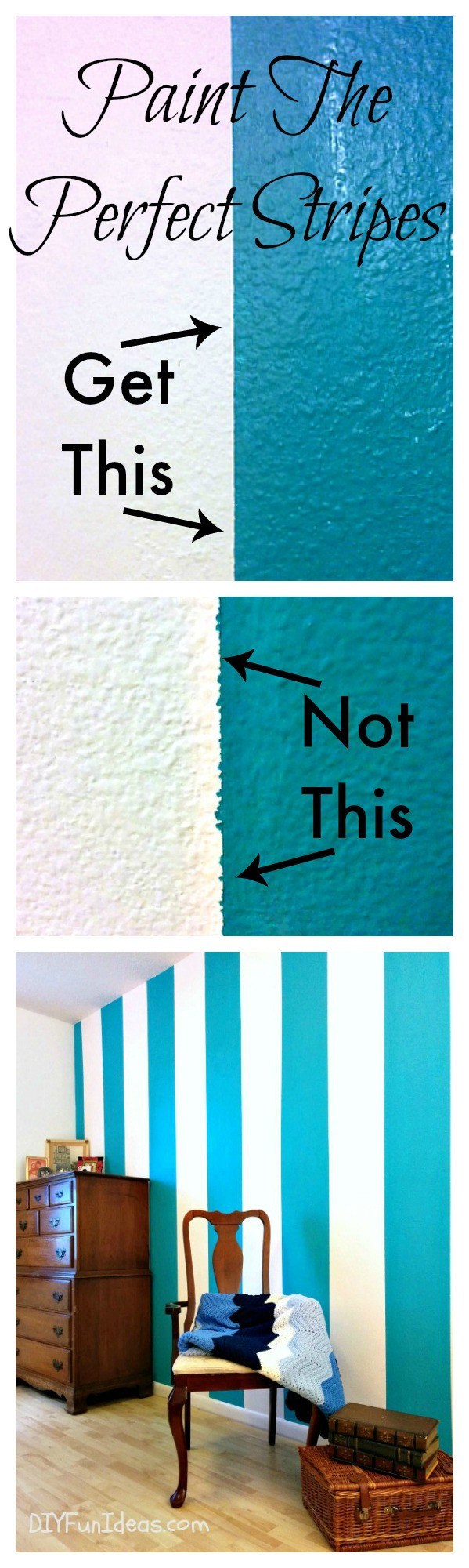 The Secret To Painting Perfectly Sharp Lines & Stripes