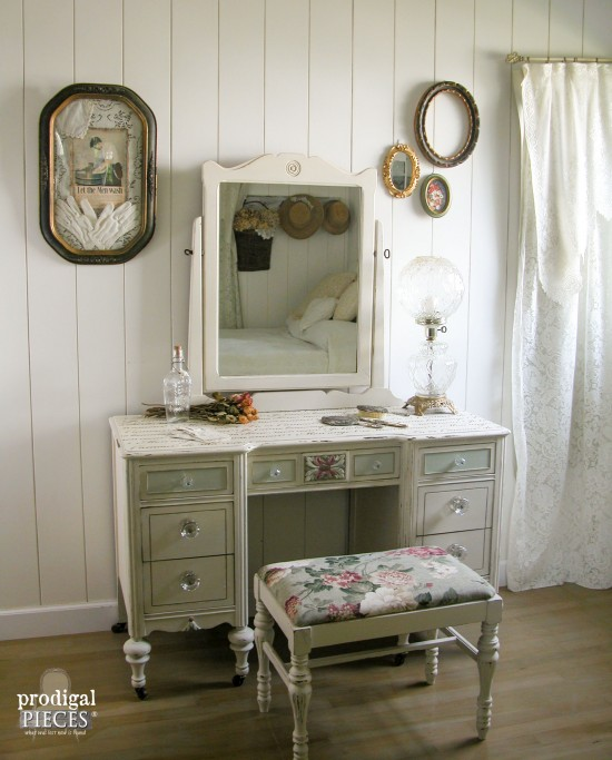 Curbside Vanity to French Beauty - by Prodigal Pieces