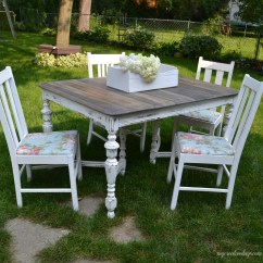 Diy Dining Chairs Makeover Portable Recliner Chair Curbside Farmhouse Set Furniture Makeovers