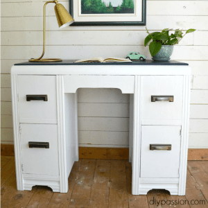 Vintage Waterfall Desk