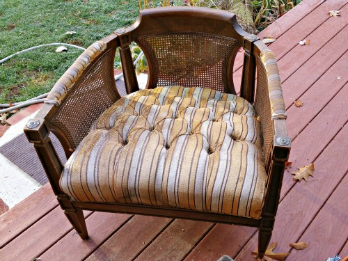 (Before) Faux Antique Chair Makeover - by Redo It Yourself Inspirations