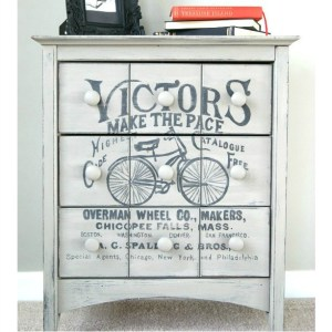 Vintage Victor's Bicycle Table