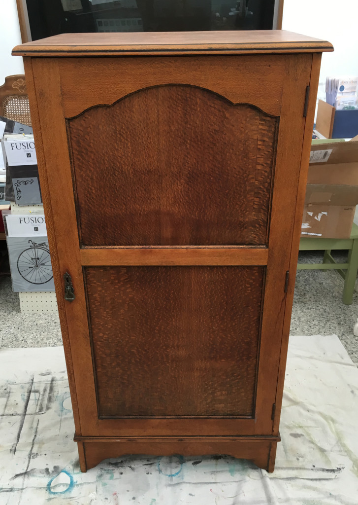 (Before) Antique Farmhouse Wardrobe Makeover - by I Restore Stuff